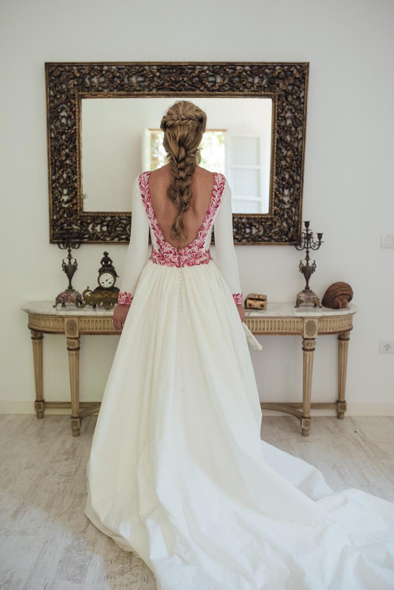 vestido de novia navascues