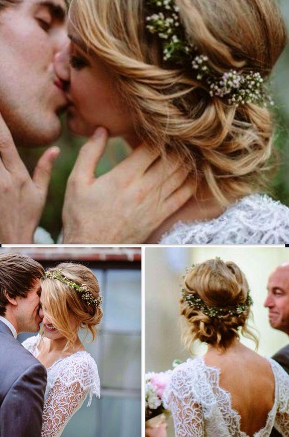 Fotos peinados de novia