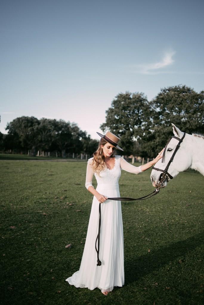 novia de campo